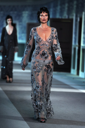 Kate Moss walked the runway at Louis Vuitton in March for Paris Fashion Week.