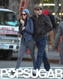 Olivia Wilde and Jason Sudeikis took a sweet stroll in NYC in March 2013.