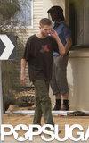Robert Pattinson filmed scenes for The Rover in Australia.