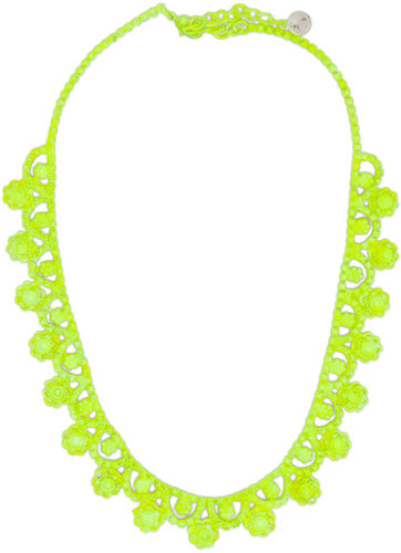 Neon Collar Necklaces