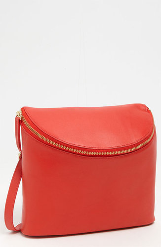 Halogen 'Mia' Leather Crossbody Bucket Bag