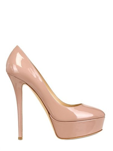 Semilla - 130mm Patent Platform Pumps