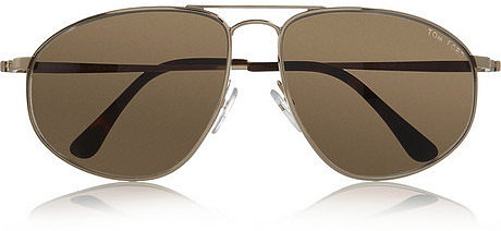 Tom Ford Metal aviator-style sunglasses