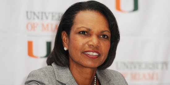 Condoleezza Rice Tells Women: Put Yourself Out There to Get Ahead