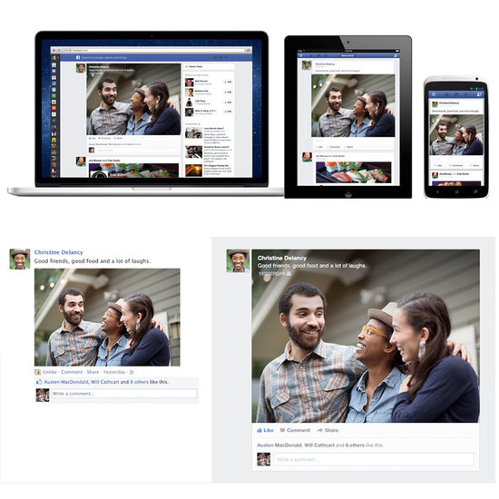 Meet Facebook's More Mobile, Visual, and Personalized News Feed