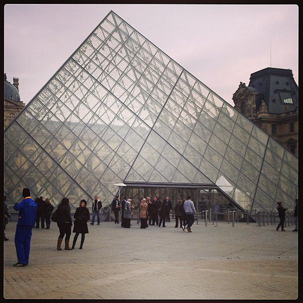 How can we come to Paris and not visit the Louvre?