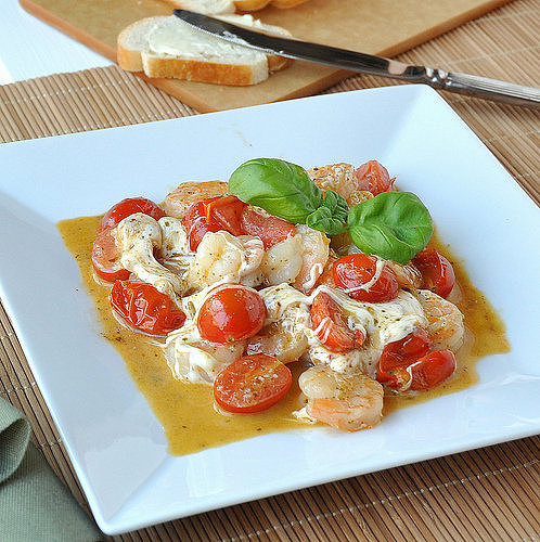 Shrimp Caprese