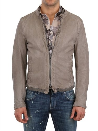 Dolce & Gabbana - Washed Nappa Leather Jacket