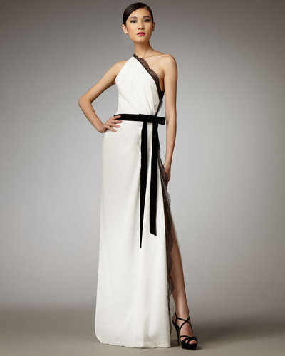 Robert Rodriguez Black Label Mandy One-Shoulder Gown