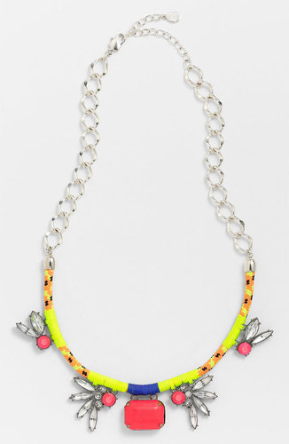 Robert Rose 'Crystal Bungee' Cluster Pendant Necklace