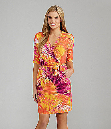 Maggy London Printed Jersey Dress