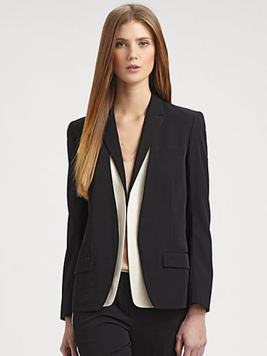 Reed Krakoff Wool Jacket and Silk Vest Set