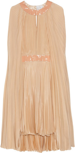 Richard Nicoll Silk cape dress