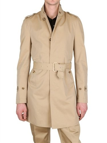 Burberry Prorsum - Shower Proof Cotton Trench Coat