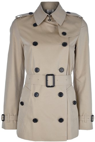 Burberry Brit double breasted trench