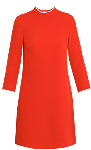 Raoul Long-sleeve shift dress