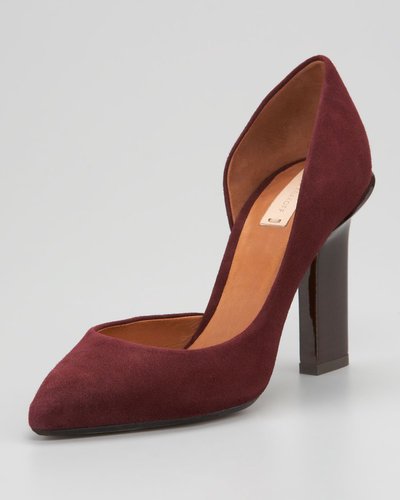 Reed Krakoff  Suede d&#039;Orsay Pump