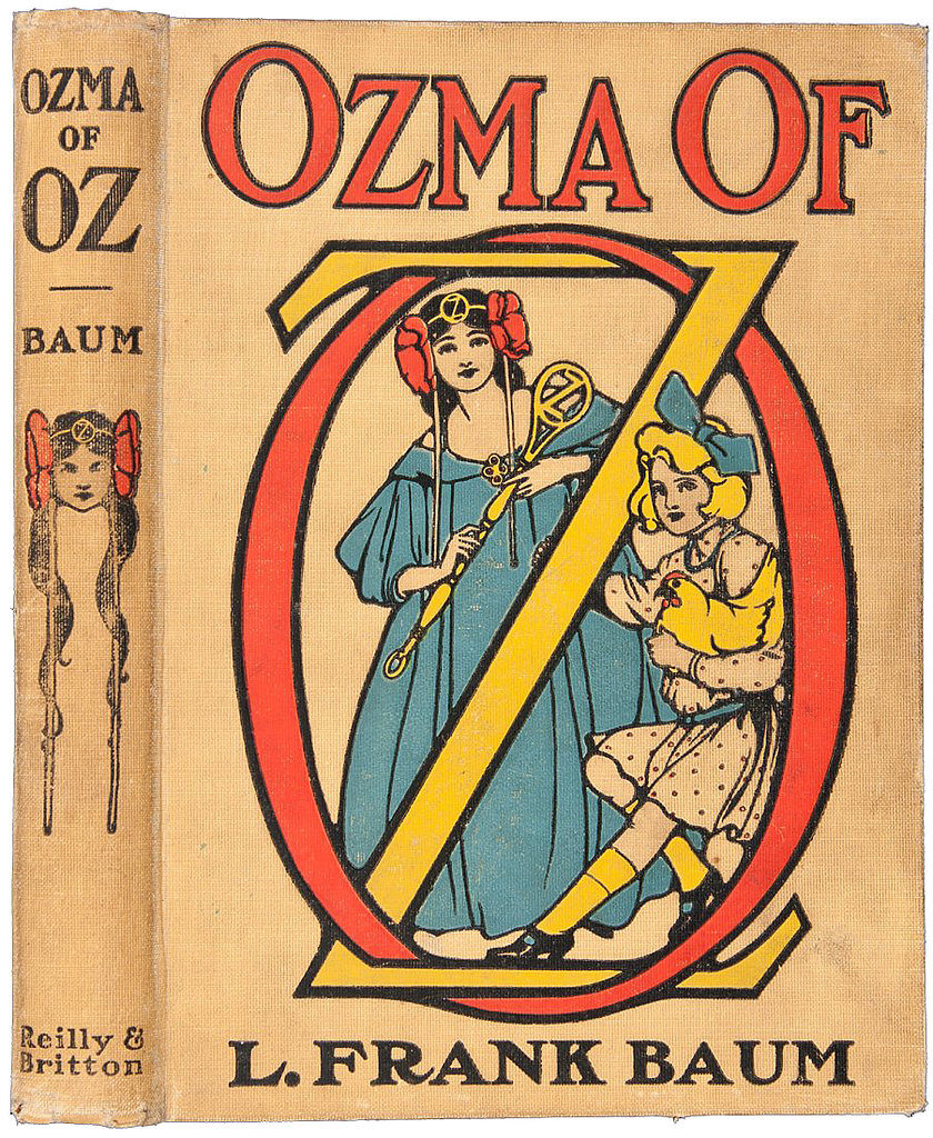 Ozma of Oz, Book 3