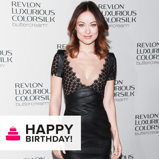Olivia Wilde Is the Master of the Not-So-Basic Black Dress Domain