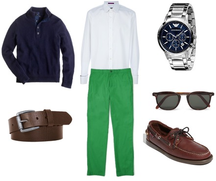 Paul Smith, Club Monaco, J.Crew, Sebago, Bill Adler