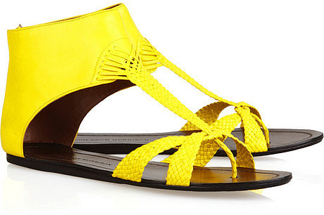 Sigerson Morrison Woven leather sandals