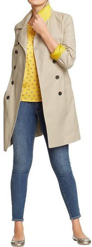 Women's Canvas Trench Coats