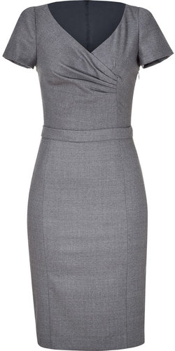 Moschino C&C Grey short sleeve wool dress