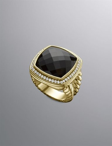 Albion Ring, Black Onyx, 17mm