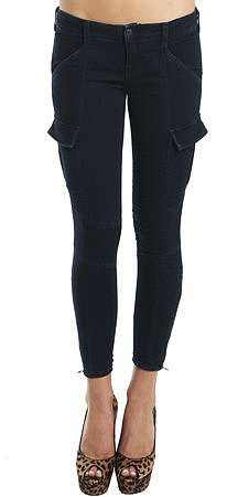 JBrand Houlihan Zip Cargo Leggings in Olympia