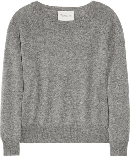 Crumpet Raglan-sleeved cashmere sweater
