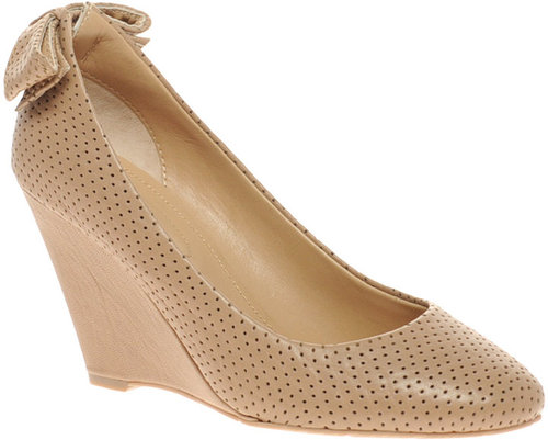 See By Chloe Bow Detail Wedge Shoes
