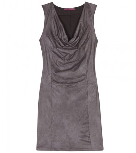 Velvet DIAMOND COWL-NECK JERSEY DRESS