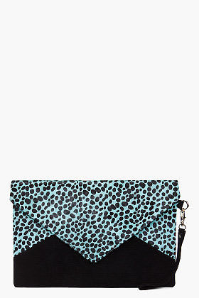 JEFFREY CAMPBELL Large Spotted Pony Clutch