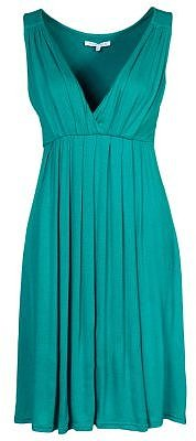Anna Field Jersey dress turquoise