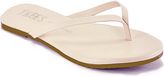 TKEES - Foundations - Seashell Leather Thong Sandal