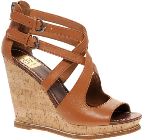 DV by Dolce Vita Tyla Cork Wedge Sandals