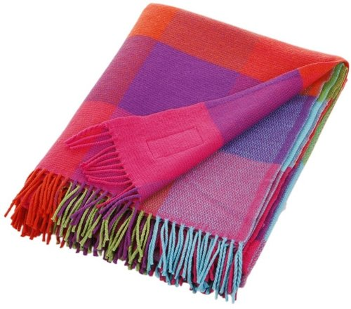 Avoca - Cashmere Mix Throw Silken Multi - 183x142cm