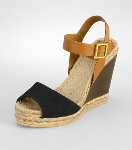 Wood Wedge Espadrille