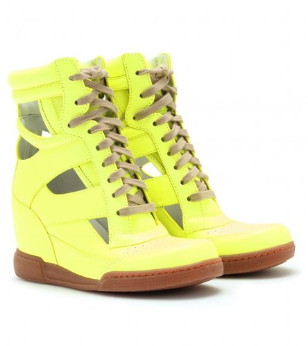Marc by Marc Jacobs KISHA CUT-OUT HIDDEN WEDGE SNEAKERS