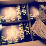 Author Chris Wendel shared his book Human After All on his Cw_books Instagram.