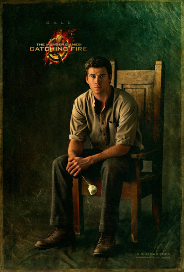 Exclusive: Liam Hemsworth in Gale's Official Catching Fire Portrait!