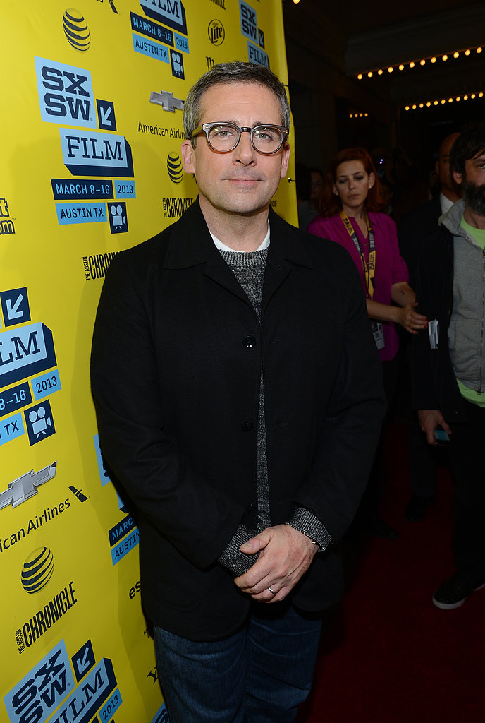 Steve Carell premiered The Incredible Burt Wonderstone at the 2013 SXSW Music, Film + Interactive Festival in Texas.