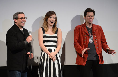 Steve Carell, Olivia Wilde, and Jim Carrey took the stage together at SXSW.