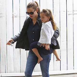 Jennifer Garner Runs Errands With Seraphina Affleck