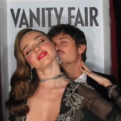 Vanity Fair Party Photo Booth Pics: Miranda Kerr, Orlando