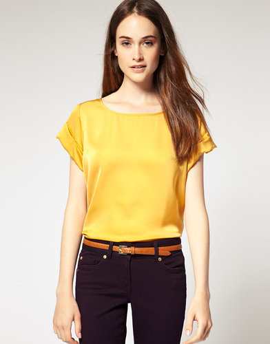 River Island Roll Sleeve T-Shirt