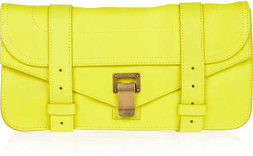 Proenza Schouler The PS1 Pochette leather clutch