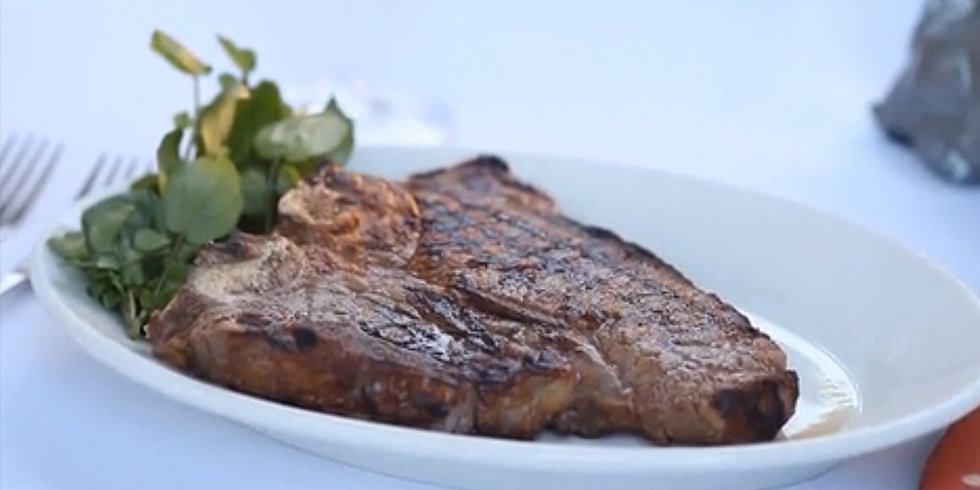 Get the Dish: Morton's Porterhouse Steak