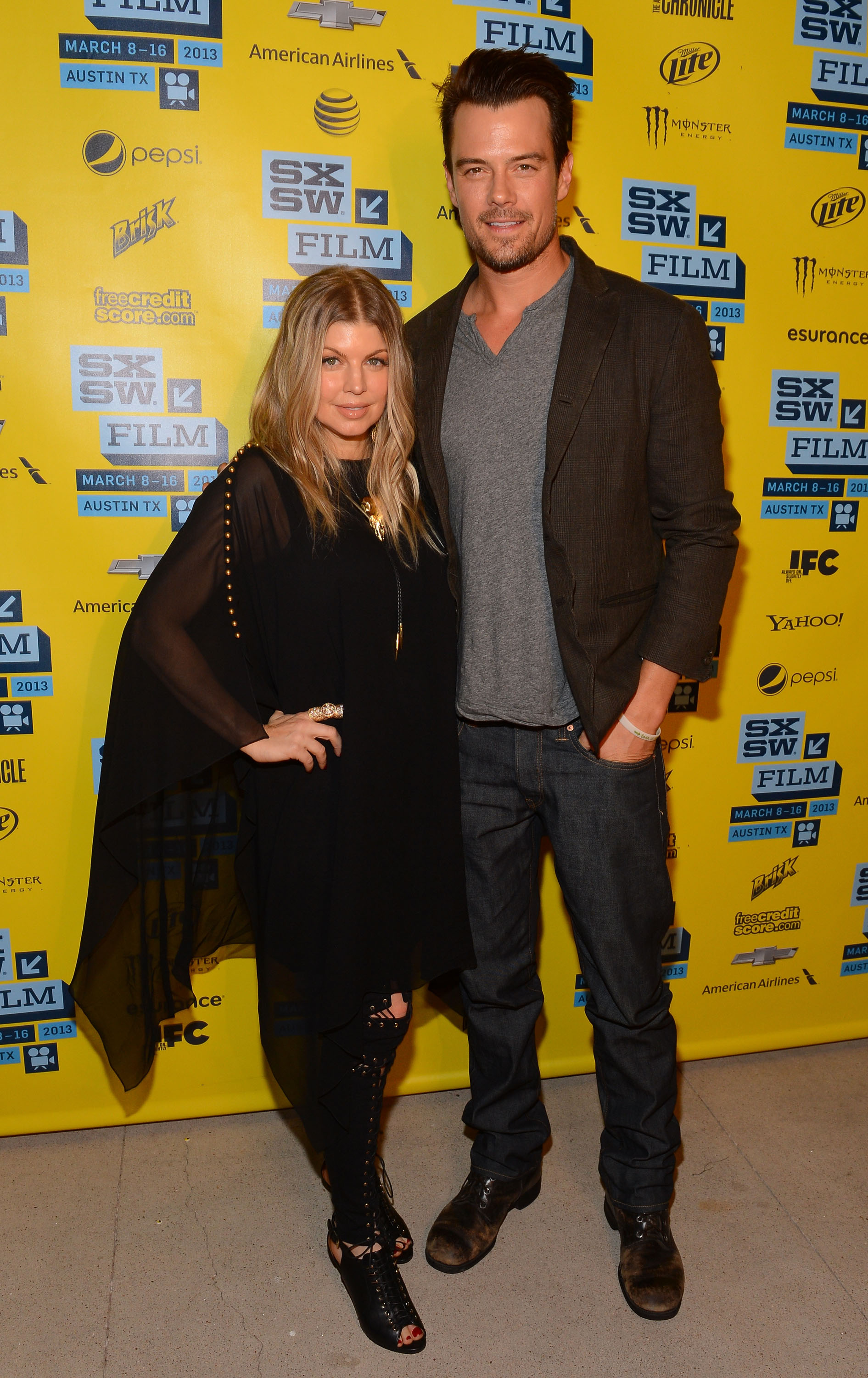Pregnant Fergie was by her husband Josh Duhamel's side at SXSW.