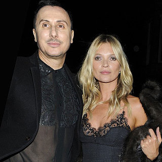 Kate Moss at Kerastase Courture Hair Care Launch Party